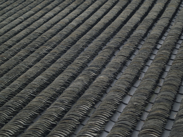Roof Of Traditional Chinese Building.