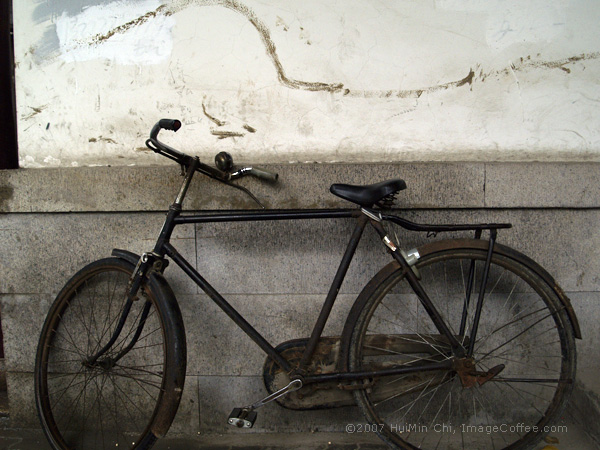 Old bicycle. 蘇州 老單車