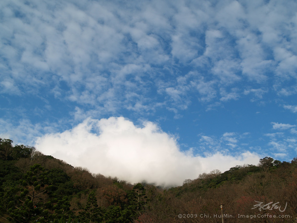 cloud in winter, Taipei